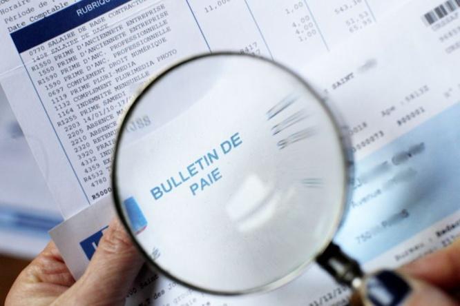 SMIC-bulletin de paie- valeurs